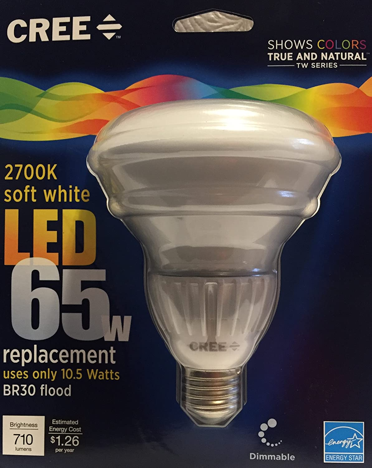"""24 6/"""" CAN DIMMABLE RECESSED CEILING DOWNLIGHT 65W soft white 2700k CREE LED BR30"""