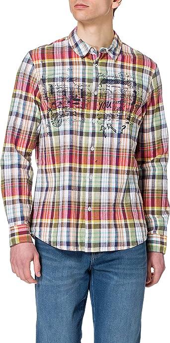 Desigual CAM_aday Camiseta para Hombre: Amazon.es: Ropa y ...