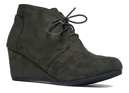 Amazon.com: CITY CLASSIFIED Rex Womens Wedges: Shoes