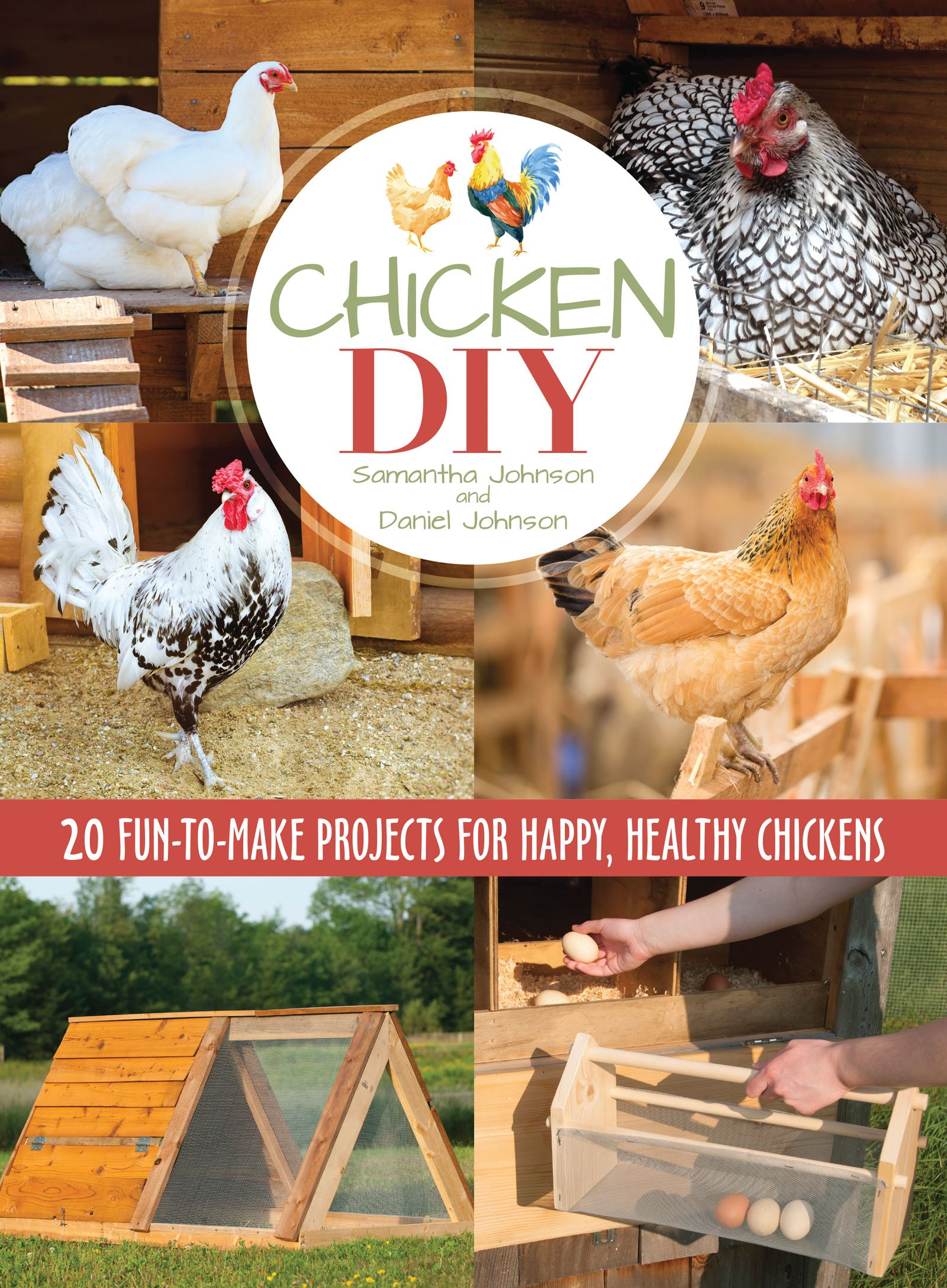 Do-it-yourself poultry crafts from various materials 92
