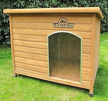 Pets Imperial Grosse Isolierte Norfolk Hundehutte Aus Holz Mit