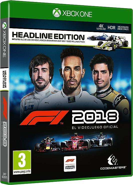 Formula 1 2018 Headline Edition: Amazon.es: Videojuegos