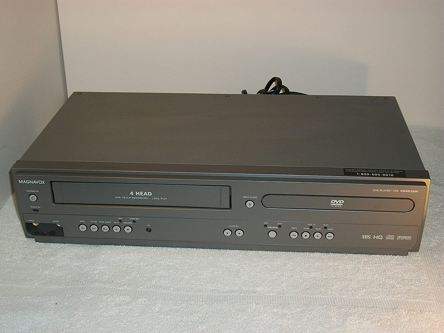 magnavox vcr dvd combo manual how to and user guide instructions u2022 rh taxibermuda co Magnavox DVD Recorder VCR Combo Magnavox VCR DVD Player Manual