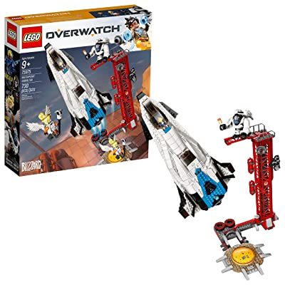 LEGO Overwatch Watchpoint: Gibraltar 75975 Building Kit (730 Pieces): Toys & Games