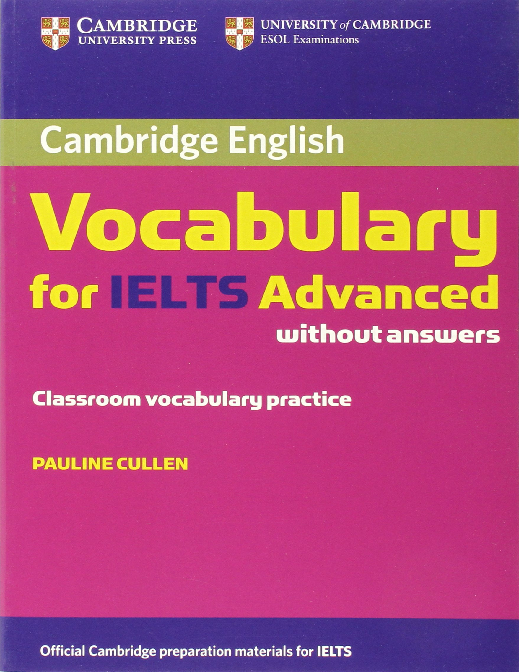 Cambridge Vocabulary For IELTS - Learn Vocab in IELTS Reading