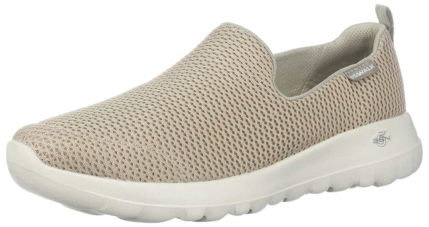 Skechers Women's Go Joy Walking Shoe B071WTWMTY 7 W US|Taupe