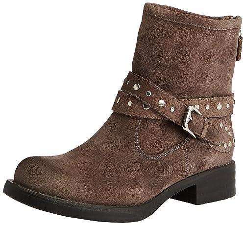 Unisa ILENA_OS Botines de Piel para Mujer, color marrón, talla 40: Amazon.es: Zapatos y complementos