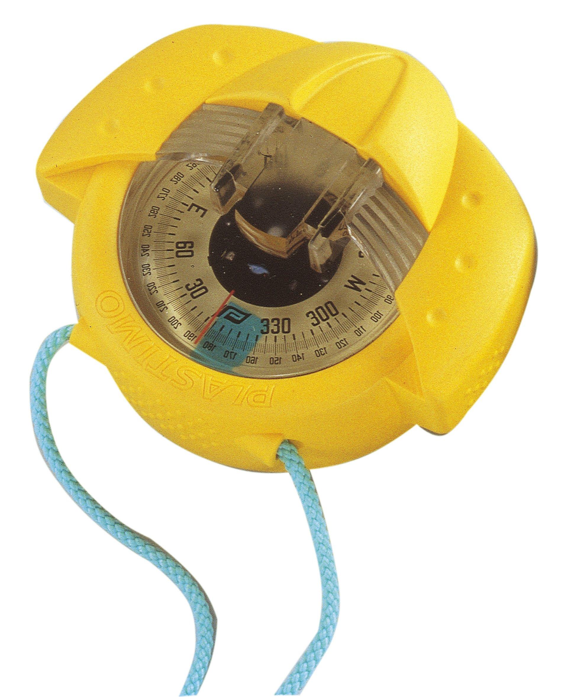 Plastimo Iris 50 Handheld Hand Bearing Compass - Yellow