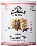 Augason Farms Blueberry Pancake Mix #10 Can, 55 oz