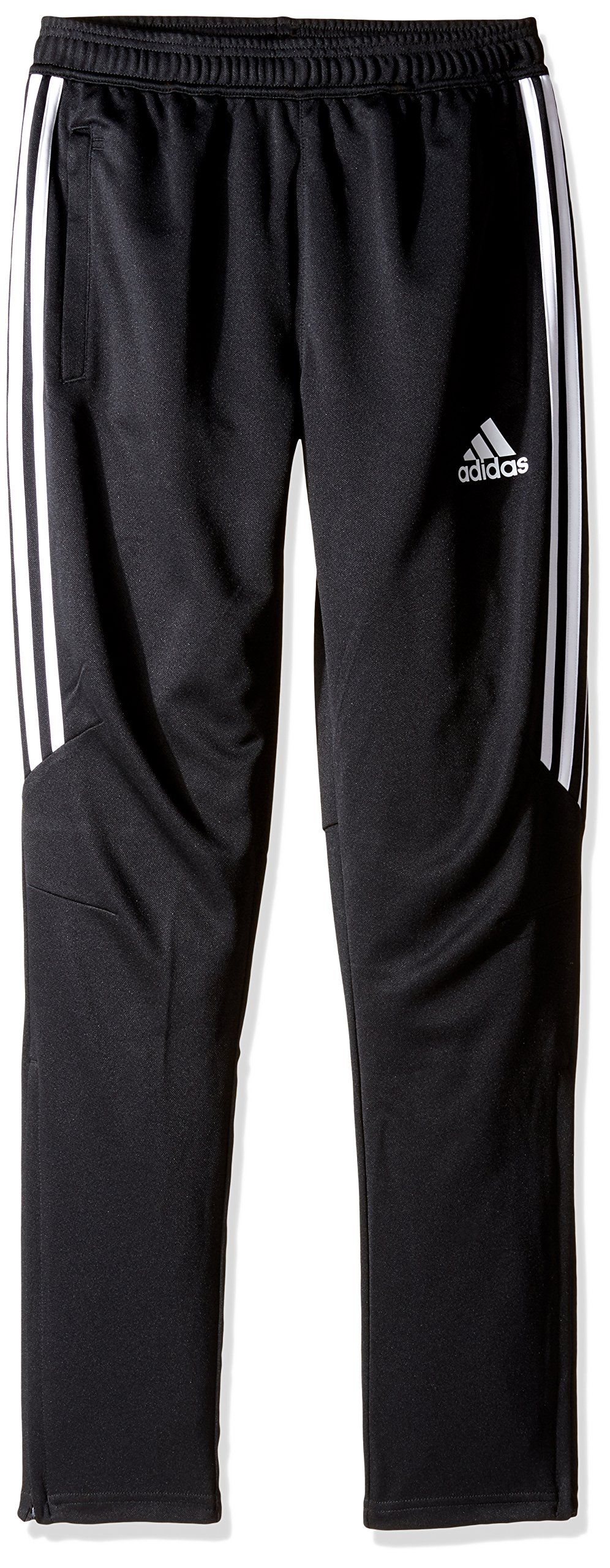 adidas Youth Soccer Tiro 17 Pants, XX-Small - Black/White/White