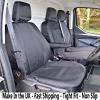 INKA Ford Transit Custom MY18 onwards Tailored Waterproof Seat Covers Grey