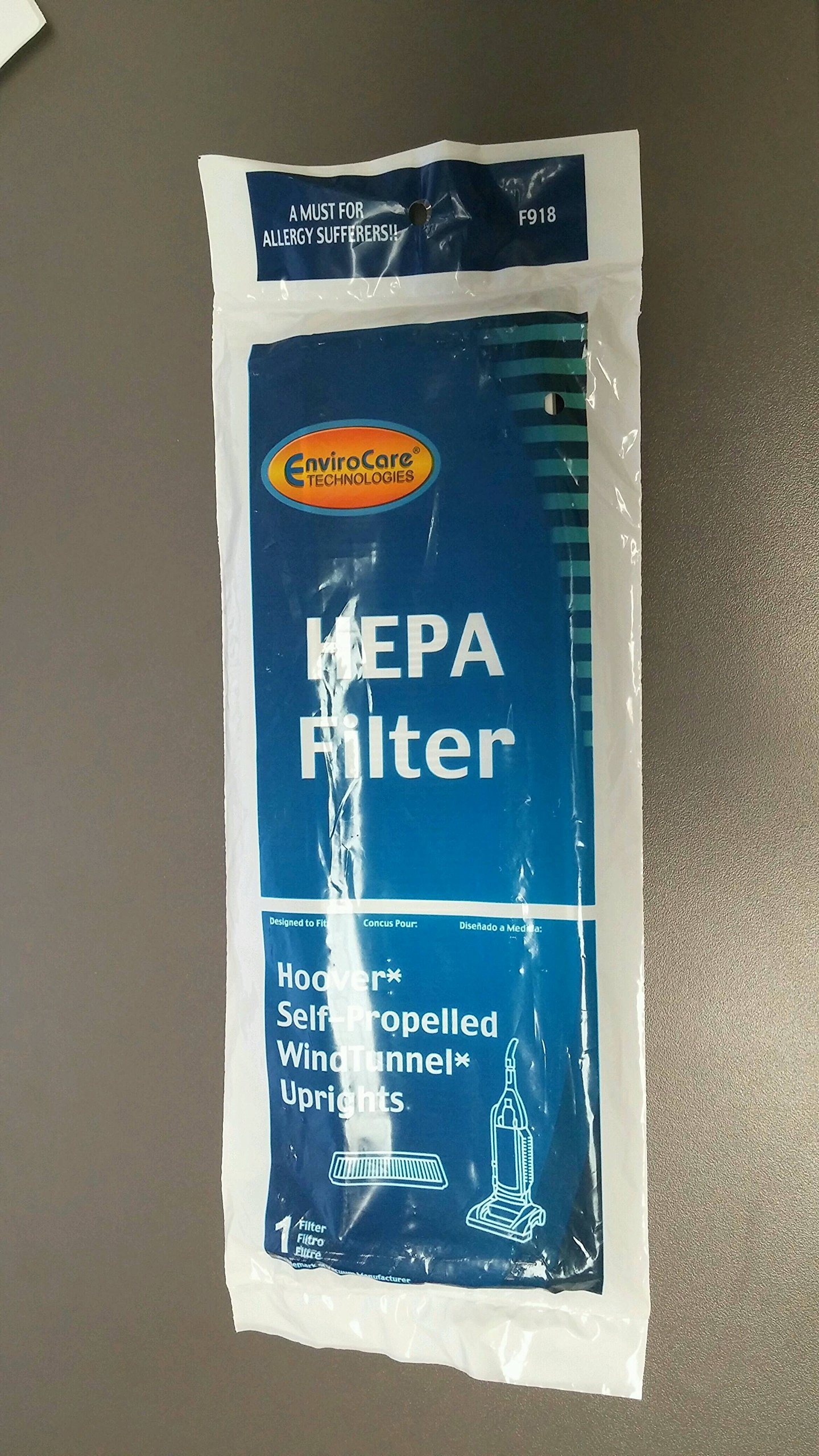 Hoover Windtunnel Final Filter Pleated Hepa Upright For