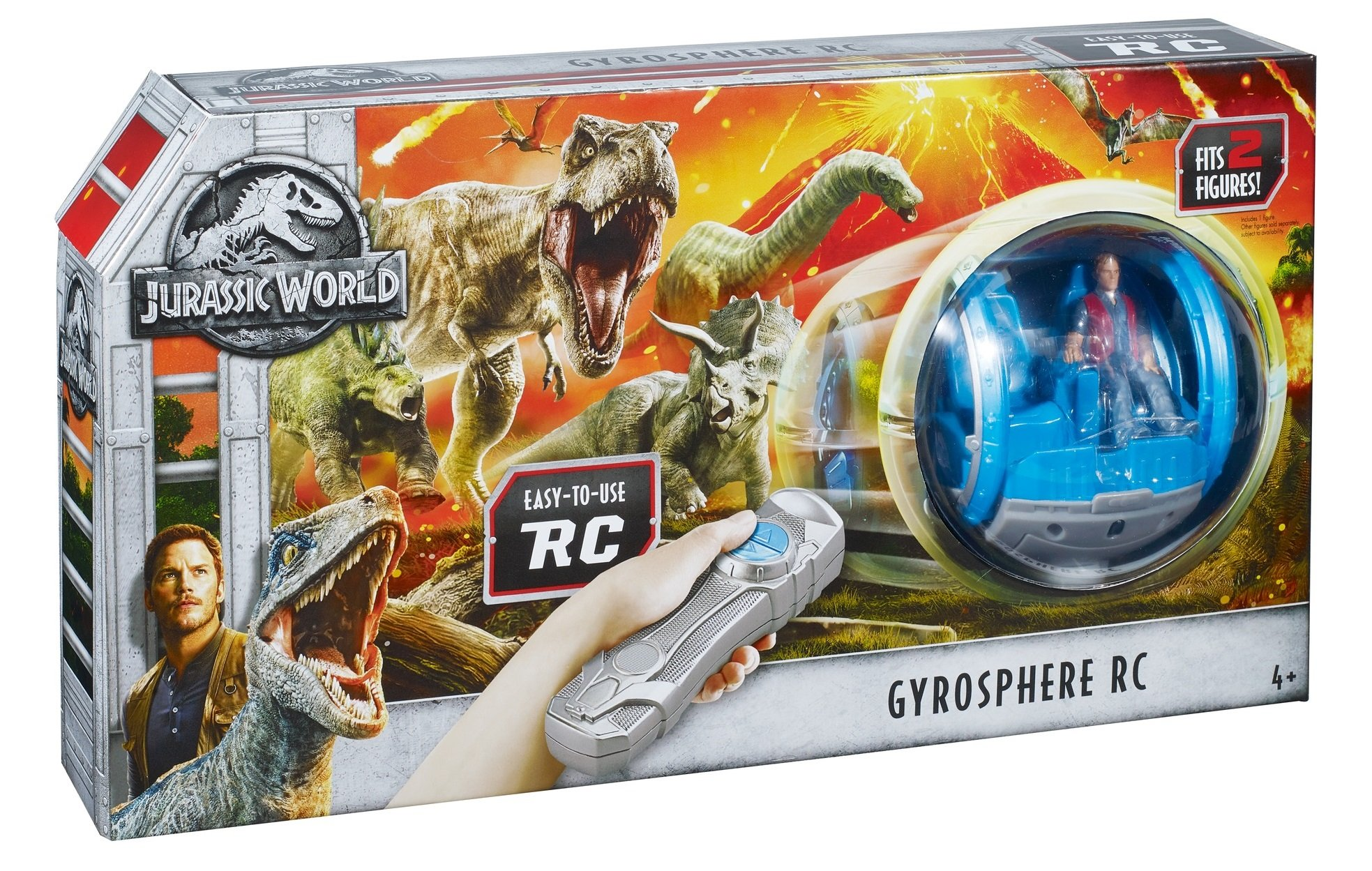 Jurassic World Gyrosphere RC Vehicle by Jurassic World Toys (Image #9)