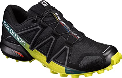 22280f75c Salomon L39239800 Synthetic Speed Cross 4 Trail Running Shoes, Adult 6.5 UK  (Black)