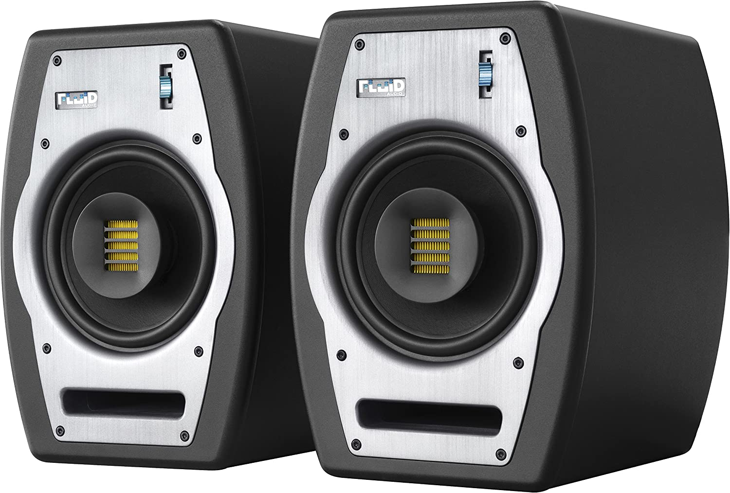 Fluid Audio FPX7 Coaxial Studio Reference Monitor: Amazon.co.uk: Musical  Instruments