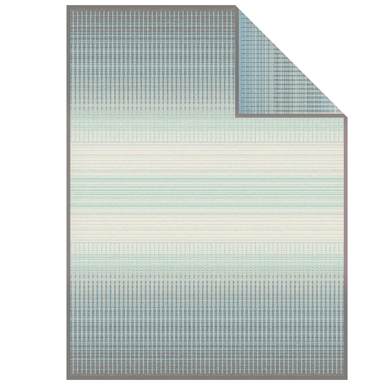 Ibena Wohndecke grau Mint Größe 150x200 cm