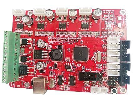 HWA KUNG - Placa de control para impresora 3D MPX_V5.0 PCB para ...
