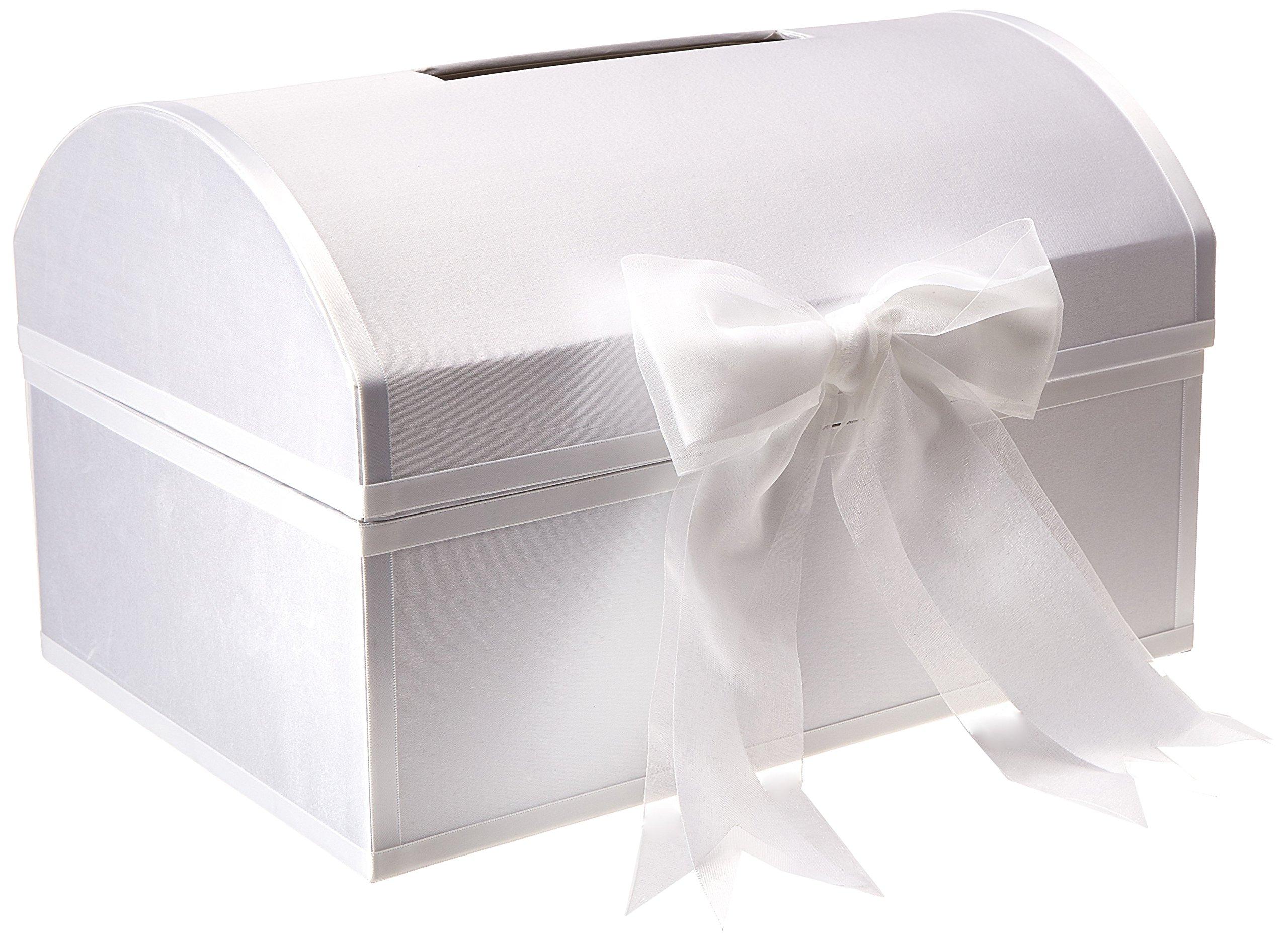 Hortense B. Hewitt 85105 Greeting Card Treasure Box, 13.75-Inches, White