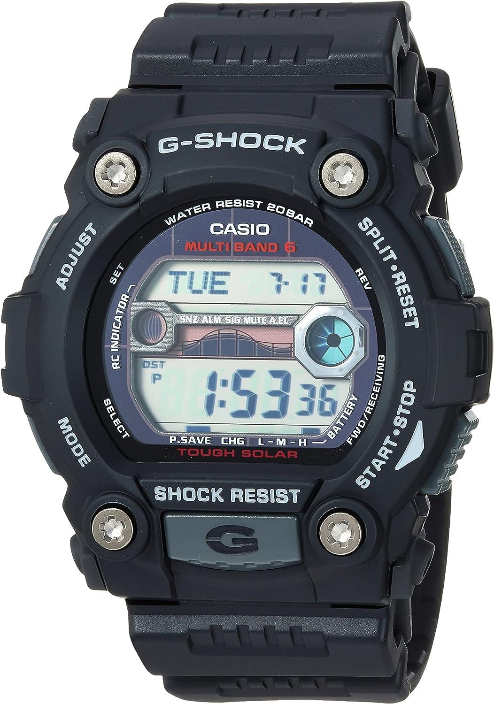Casio Men's G-Shock Quartz Watch with Resin Strap, Black, 30 (Model: GW7900-1)