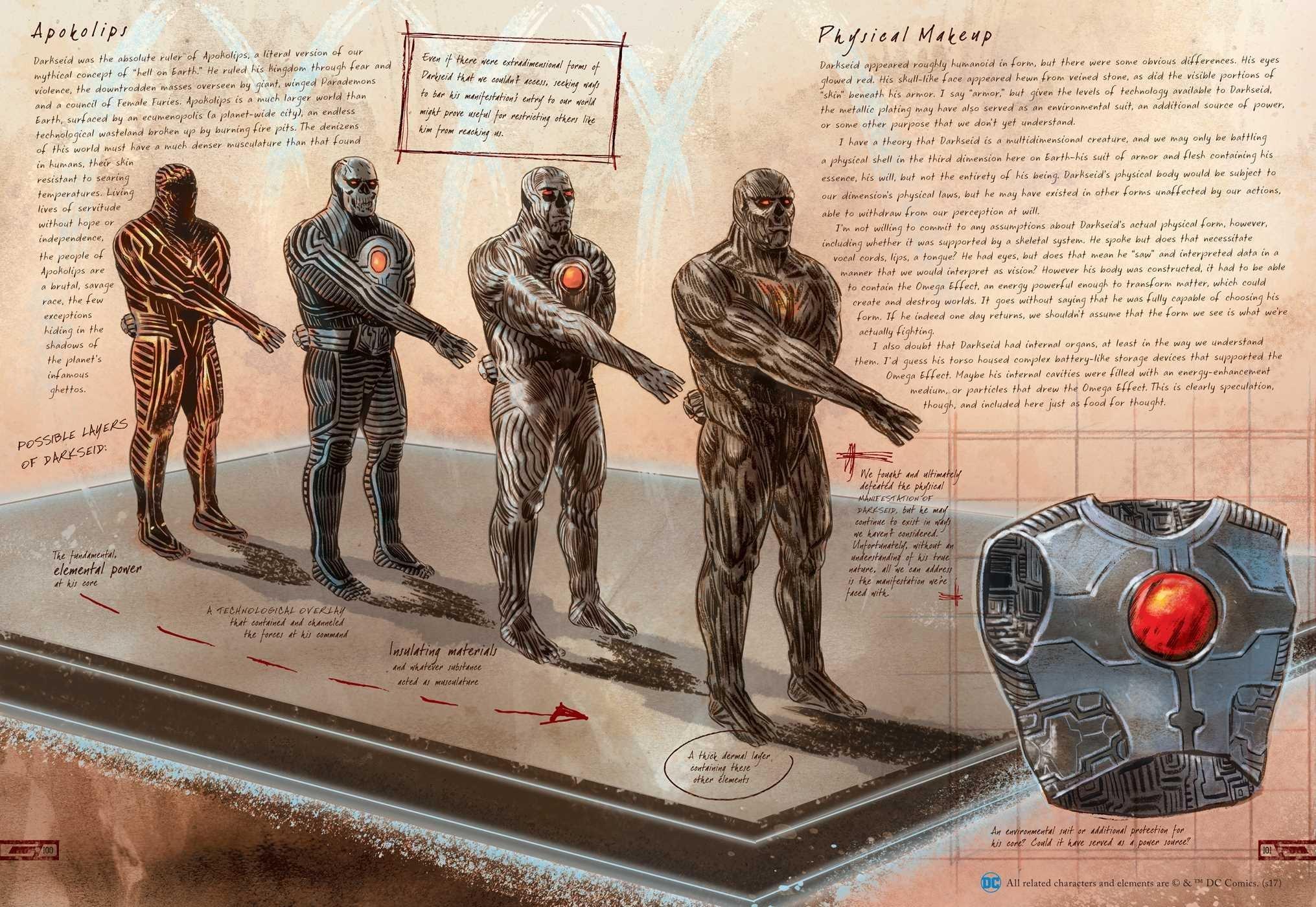 Amazon.com: DC Comics: Anatomy of a Metahuman (9781608875016): S.D. ...