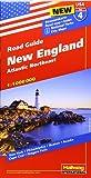 Hallwag USA Road Guide 04 New England 1 : 1.000.000: Atlantic Northeast (Hallwag Strassenkarten)
