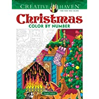 Image for Creative Haven Christmas Color by Number (Creative Haven Coloring Books)