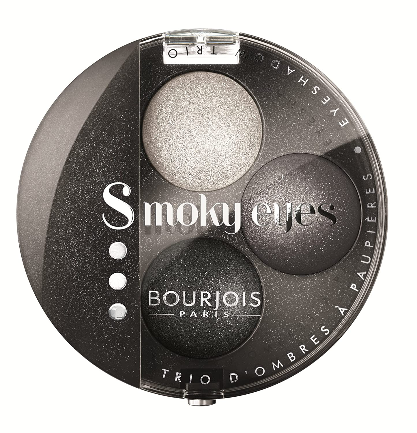 Bourjois Smoky Eyes Trio Eyeshadow No.16 Gris Party 394161