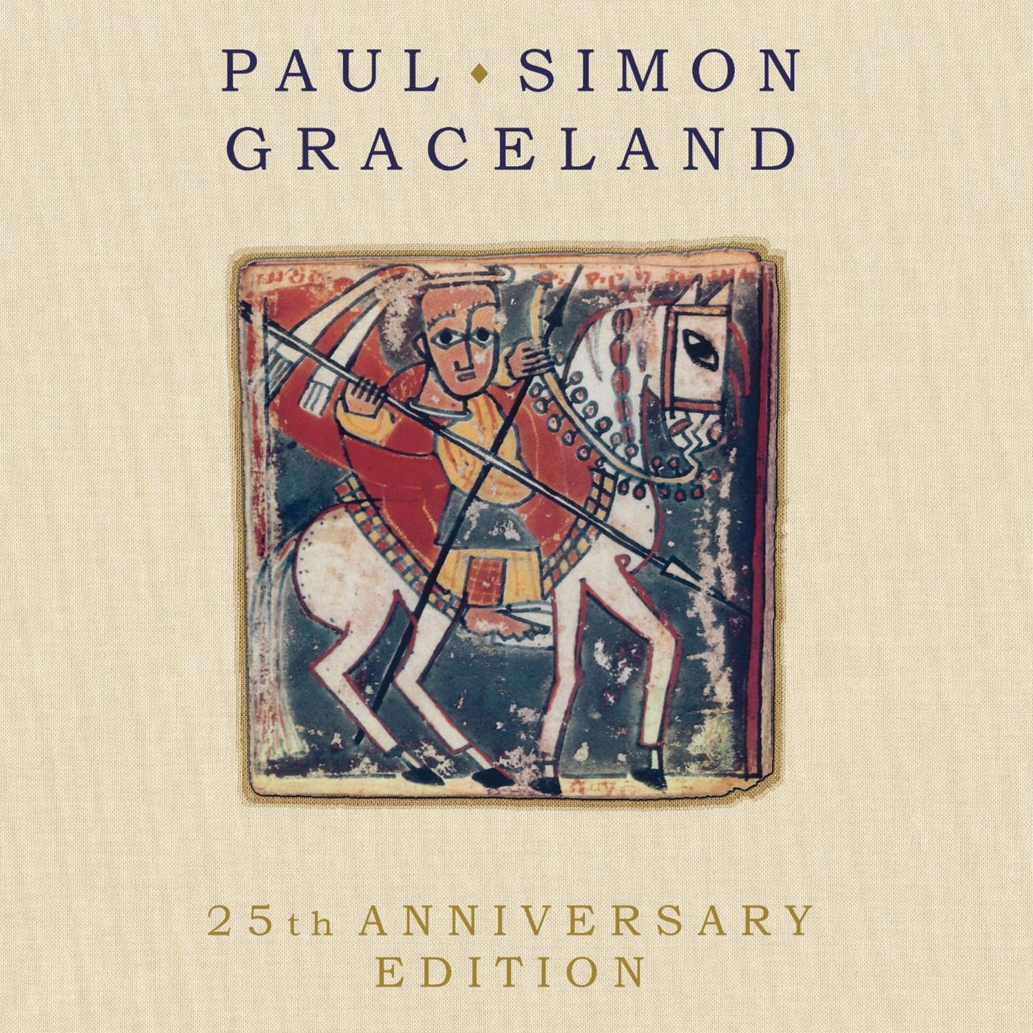 Graceland 25th Anniversary Edition CD/DVD (featuring ''Under African Skies'' film) by Sony Legacy