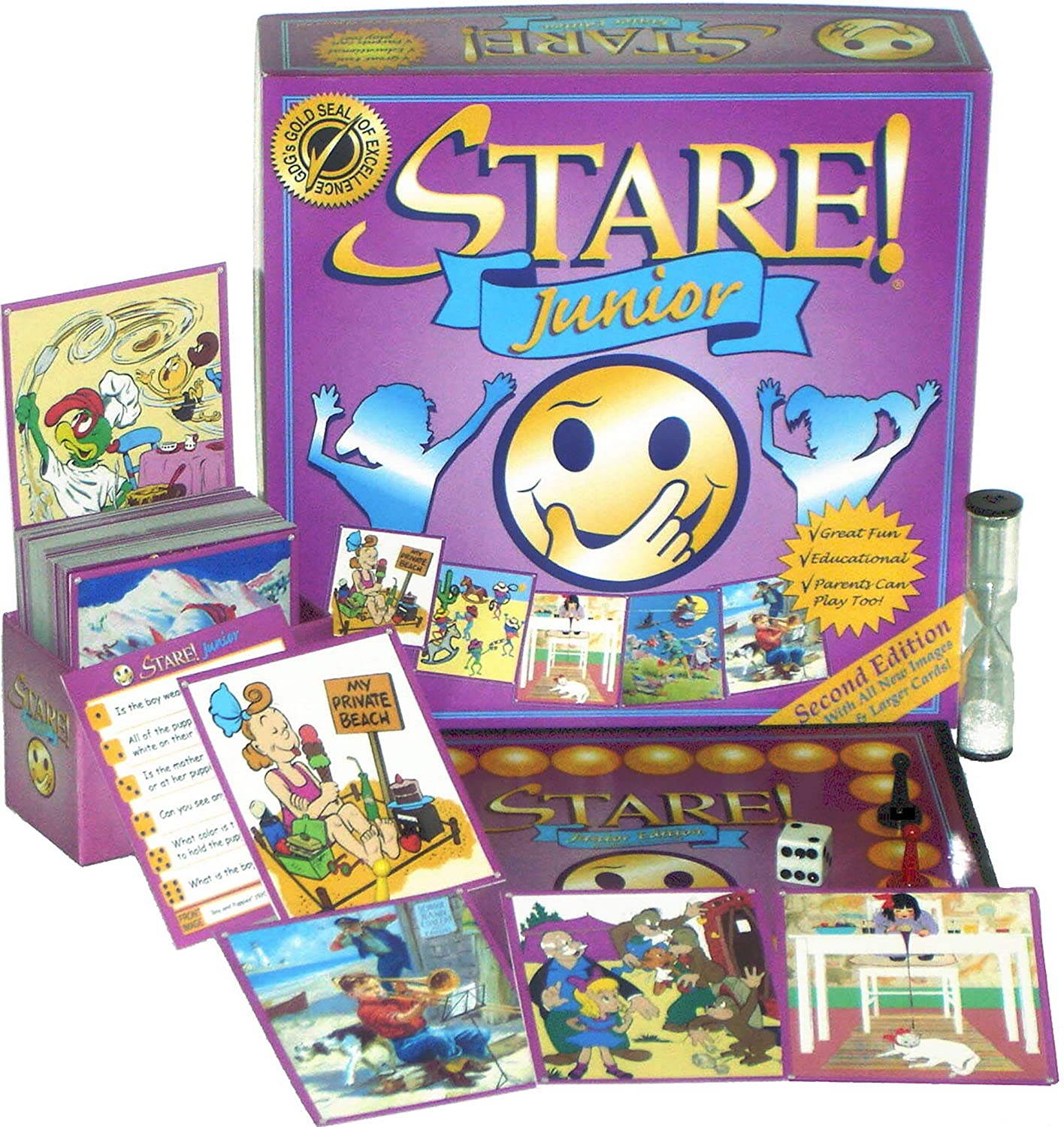 STARE! JUNIOR Game - 2nd Edition Game Development Group Inc. 11105