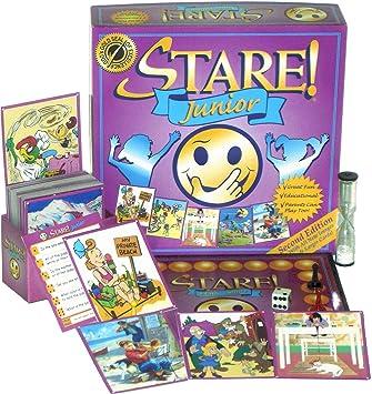 Amazon.com: Stare! Junior Board Game - 2nd Edition: Toys & Games
