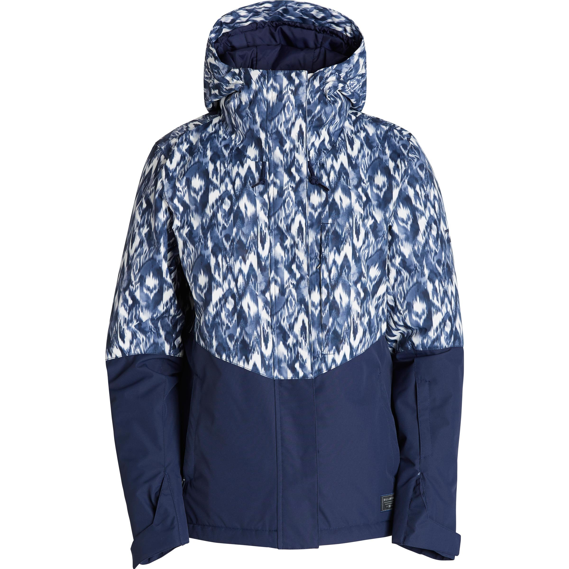 Billabong Junior's Akira Printed Snow Jacket, Peacoat, L by Billabong (Image #1)