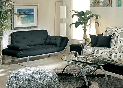 american furniture alliance mali flex futon with adjustable armrests amazon    american furniture alliance mali flex futon with      rh   amazon