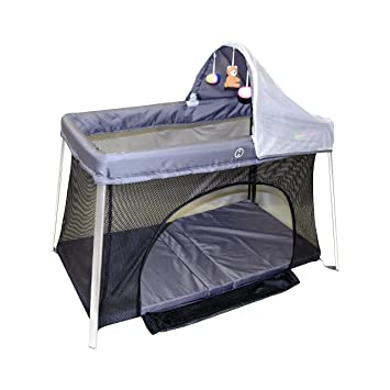 Portable Crib - Front And Top Baby Access With Sun Shade And Bug Canopy. Your  sc 1 st  Amazon.com & Amazon.com : Portable Crib - Front And Top Baby Access With Sun ...