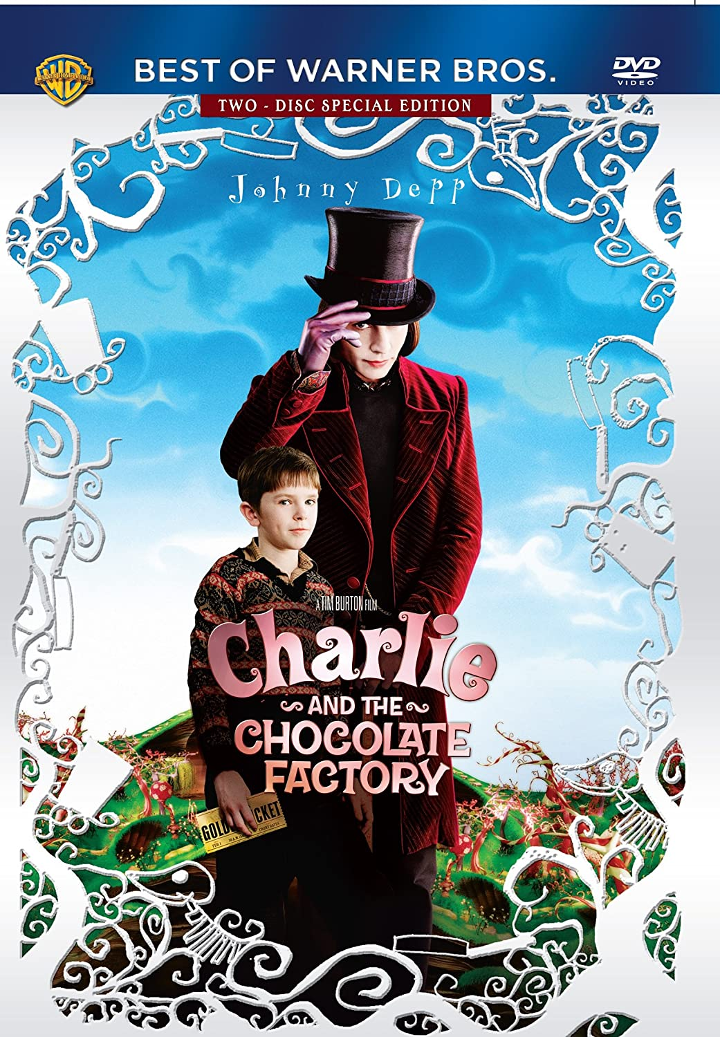 Amazon.in: Buy Charlie & the Chocolate Factory DVD, Blu-ray Online ...