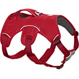 RUFFWEAR NEW 2017 RED WEB MASTER DOG HARNESS ♦ SECURE REFLECTIVE SUPPORTIVE MULTI USE ♦ ALL SIZES