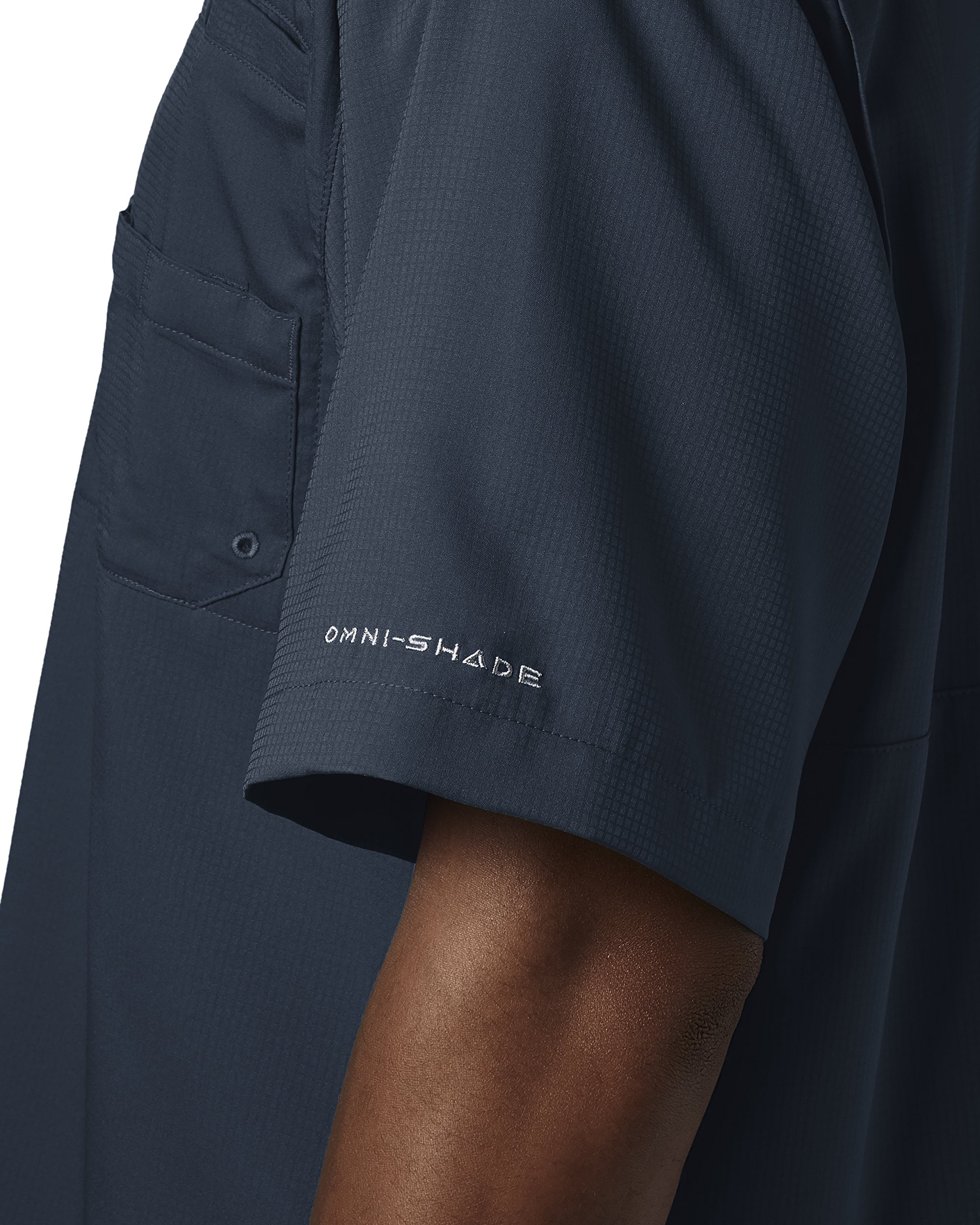Columbia Men's Tamiami II Short Sleeve Fishing Shirt, Collegiate Navy, X-Small by Columbia (Image #4)