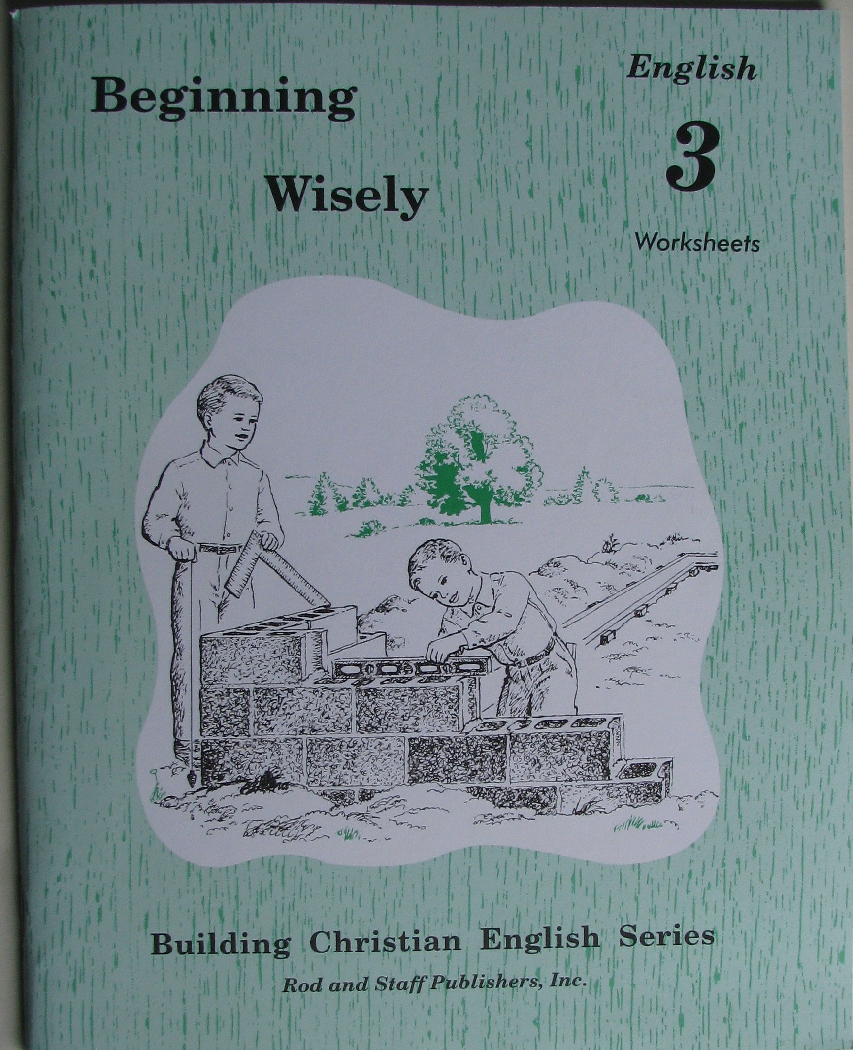 Beginning Wisely English 3 Worksheets (Building Christian English ...