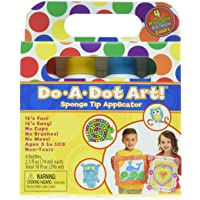 Do A Dot Art Rainbow 4 Pack Washable Dot Markers, The Original Dot Marker