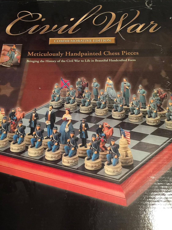 Pieza de ajedrez edición Conmemorativa de la Guerra Civil: Amazon.es: Juguetes y juegos