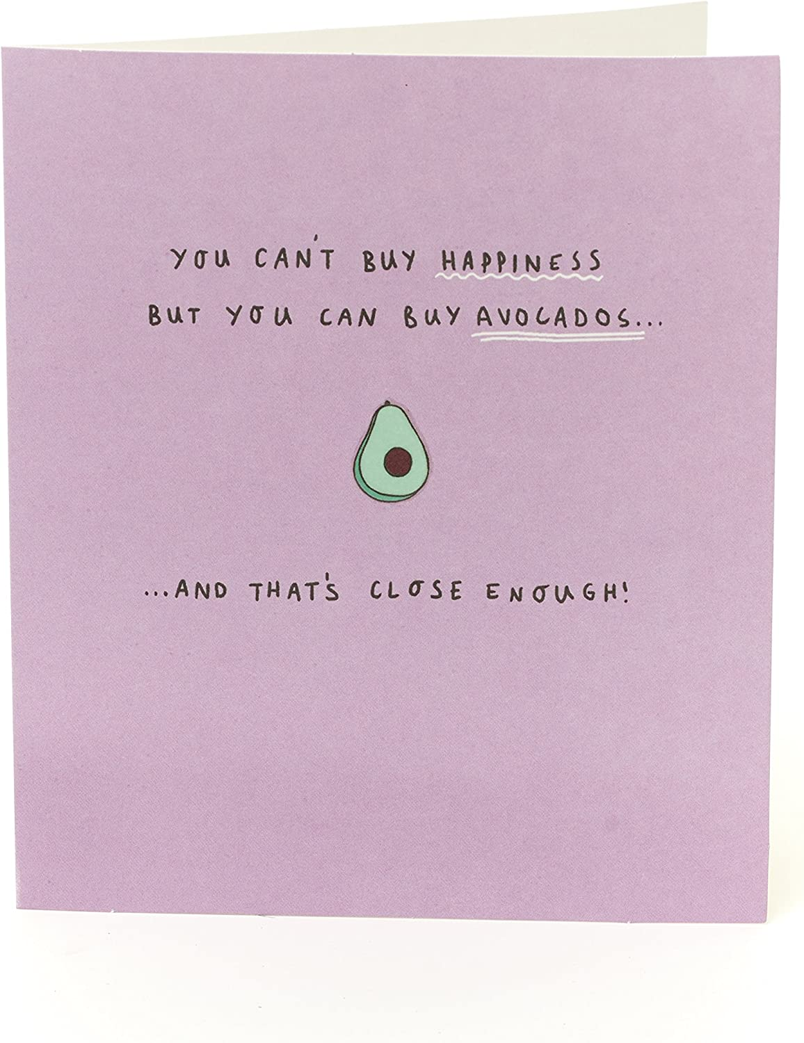 Amazon Com Birthday Card For Her Funny Birthday Card Friend Female Funny Gifts For Her Ideal Gift Card For Her Gifts For Women Funny Gifts Avacado Joke Office Products