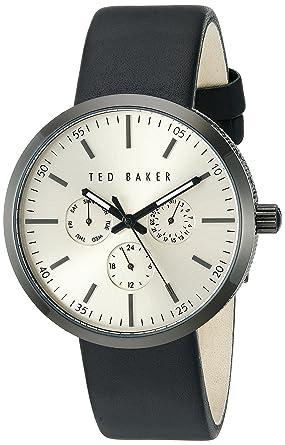 86ce04271 Ted Baker Men s 10026555 Smart Casual Analog Display Japanese Quartz Black  Watch