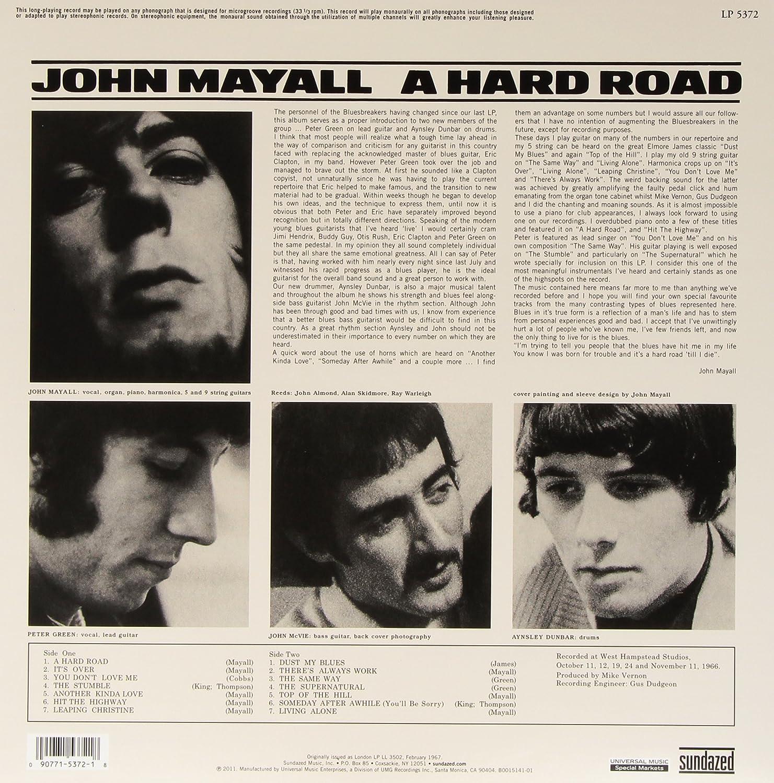 John Mayall And The Blues Breakers - Hard Road (Mono Edition ...
