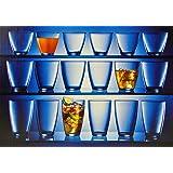 18tlg. Gläser Set Exzelsius - 3 verschiedene Gläser je 6 Stück