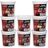 Camerons Wood Smoking Chips Variety Gift Set - Set of 8 Pints of Extra Fine Cut Sawdust - Perfect for Smoking Guns…