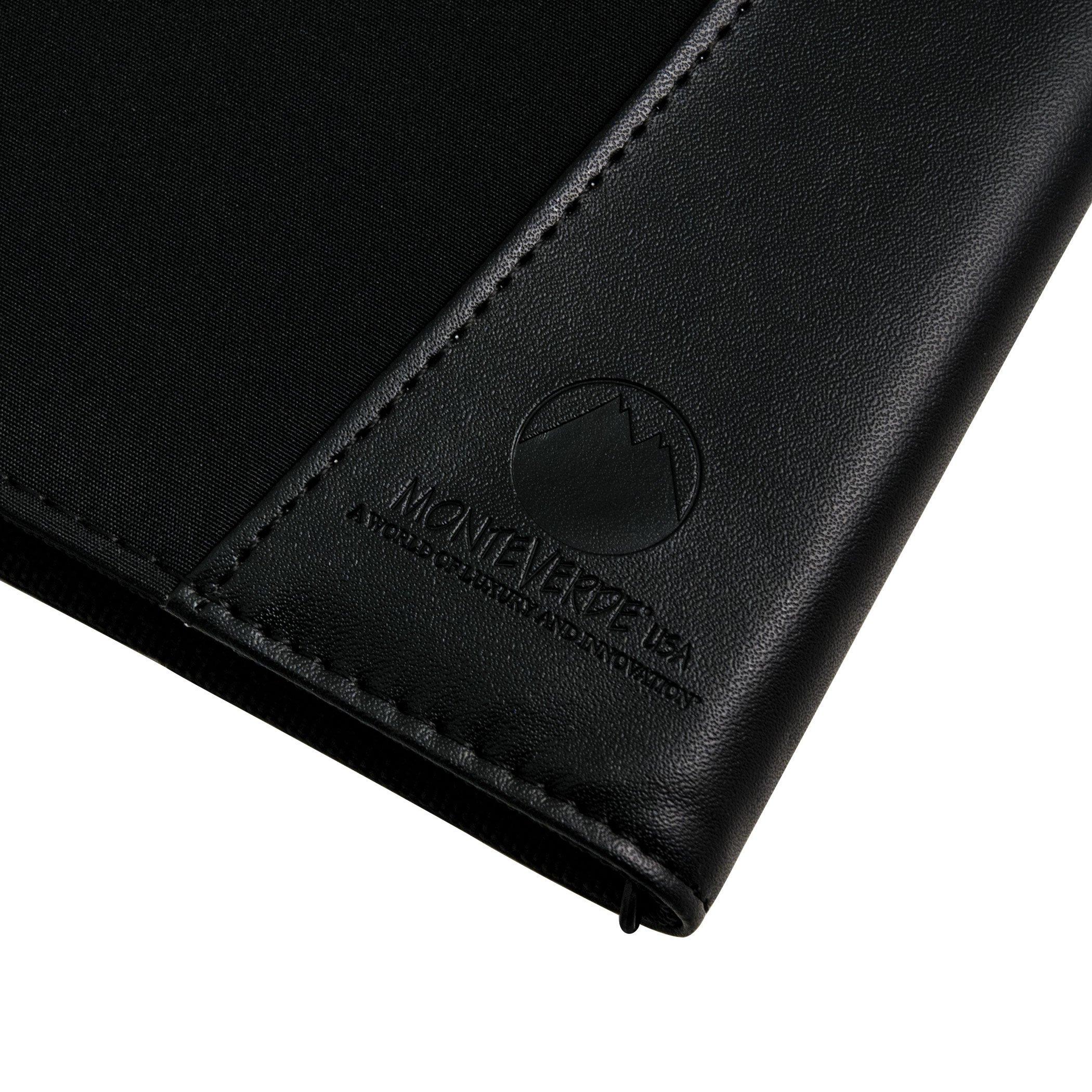 MONTEVERDE Monteverde 36 PC Zipper Pen Case; Black (1407) by Monteverde (Image #3)