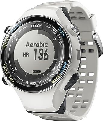 465e5c2c8a Amazon.co.jp: [エプソン リスタブルジーピーエス]EPSON Wristable GPS 腕時計 GPS機能 ランニング SF-850PC:  腕時計