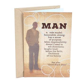 Amazon hallmark mahogany birthday greeting card man hallmark mahogany birthday greeting card man definition m4hsunfo Gallery