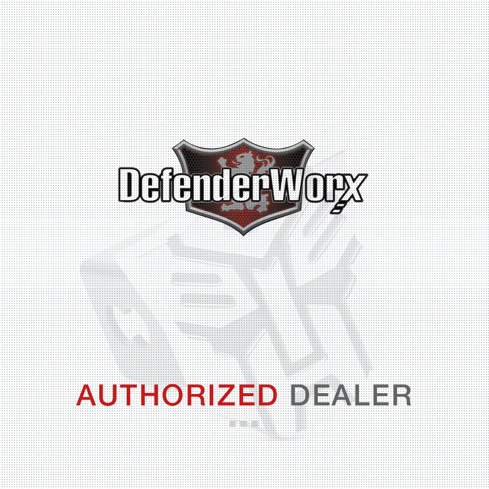 Defenderworx 901486 Gloss White 5 Oval Billet Tailgate Emblem for Ford