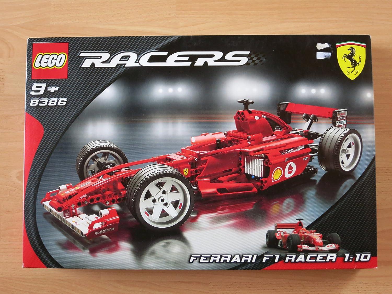 Amazon Com None Lego Racers Ferrari F1 Racer 1 10 Scale Toys Games