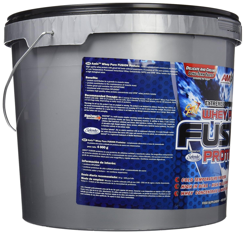 Amix Whey Pure Fusion Proteínas - 4000 gr_8594159532960